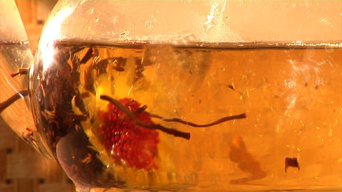 herbal tea infusion Footage