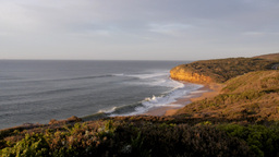 early morning bells beach Footage