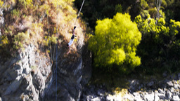 bungy jump Footage