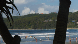 byron bay main beach Footage