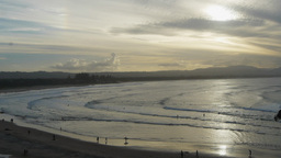 byron bay late afternoon Footage