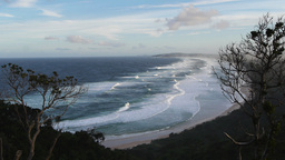 byron bay surf beach Footage