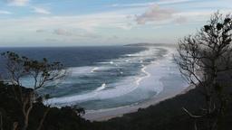 byron bay surf beach Footage