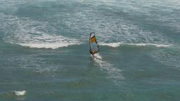 female windsurfer hawaii Footage