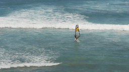 windsurfer at diamond head Footage