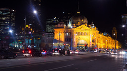 flinders street time lapse Footage