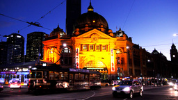 flinders street station Footage
