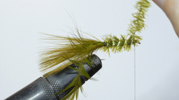 tying a wet fly Footage