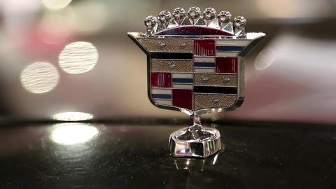 Cadillac emblem Footage