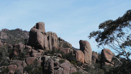 large granite boulders Footage
