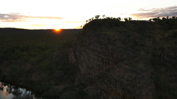 nitmiluk gorge sunset Footage