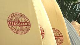 lifeguard surfboards at waikiki Footage
