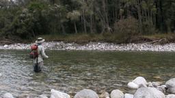 nz brown trout hook-up Footage