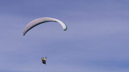 man paragliding Footage