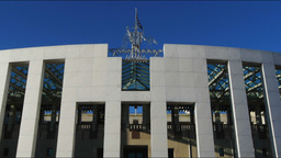 parliament house canberra Footage