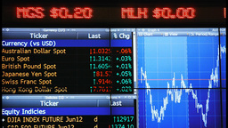 Stock Ticker stock footage