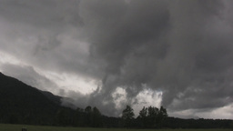 swirling storm clouds time lapse Footage