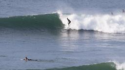 surfing at bells beach Footage