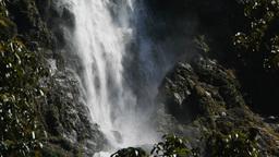 Sutherland Falls close up Footage