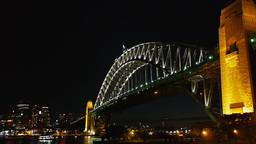 sydney harbour bridge from milson pt Footage