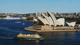sydney opera house and the manly ferry Footage