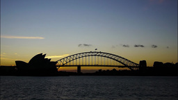sydney skyline time lapse Footage