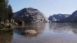 polly dome and lake tenaya Footage