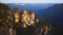 the Three Sisters in the Blue Mountains Footage