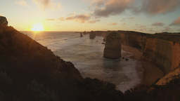 twelve apostles time lapse Footage