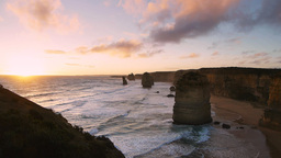 twelve apostles sunset Footage