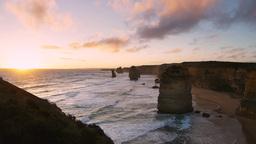 twelve apostles sunset Footage