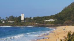 waimea bay beach Footage