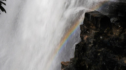 waterfall rainbow Footage