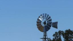 farm windmill close up Footage
