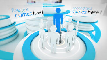 Elegant Corporate Presentation stock footage