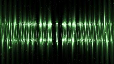 Audio green equalizer Animation