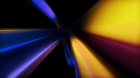 colorful lights space Animation