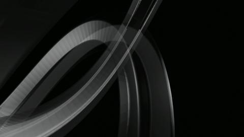 Glow On Black stock footage