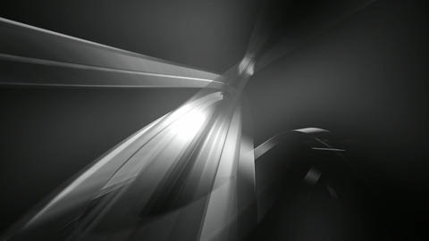 black white streaks Animation