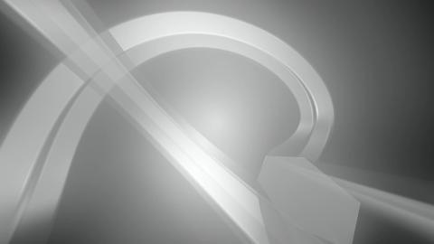 silver lights line Animation