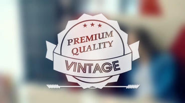 Vintage Labels After Effects Project