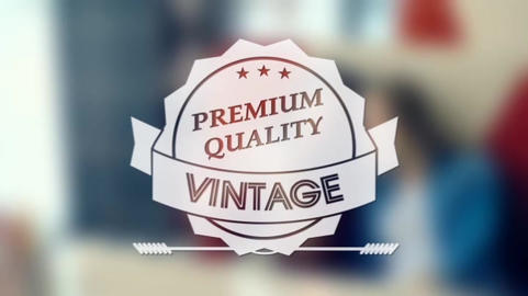 Vintage Labels After Effects Template