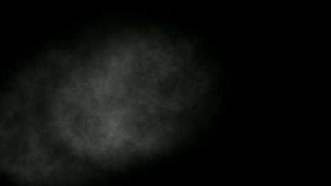 Smoky Clouds in ghost darkness,noise background Stock Video Footage