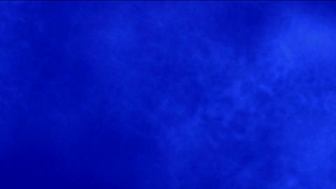 Smoky Clouds in blue background Animation