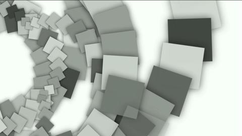mechanic gear compass,swirl square paper,computer tech web background Animation
