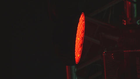 concert lights 6 Stock Video Footage