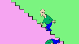 ON THE STAIRS Animation