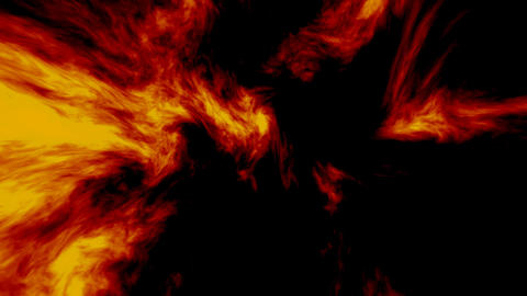 Burning Fire Background Stock Video Footage