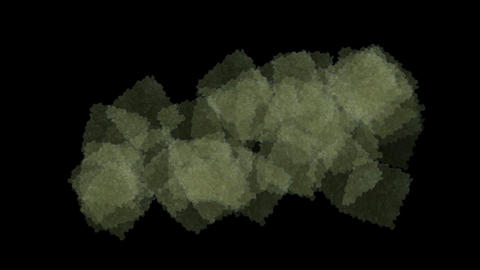honeycombs and quartz crystal cluster Stock Video Footage
