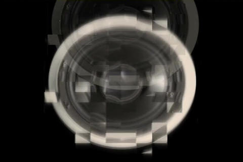 Sound Speaker Bad Pixels Stock Video Footage